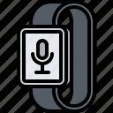 dictaphone, interface, microphone, smart, ui, watch