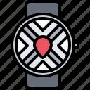 interface, location, map, pin, smart, ui, watch