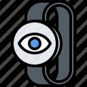 camera, eye, interface, monitoring, smart, ui, watch