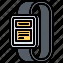 interface, message, notification, push, smart, ui, watch