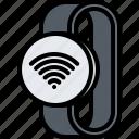 fi, interface, internet, smart, ui, watch, wi
