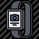 camera, interface, photo, picture, smart, ui, watch