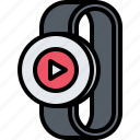 interface, player, smart, ui, video, watch