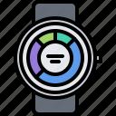 chart, interface, monitoring, smart, statistics, ui, watch