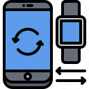 3, data, exchange, interface, phone, smart, ui, watch