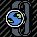 global, interface, internet, planet, smart, ui, watch