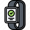 check, interface, message, smart, success, ui, watch