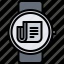 interface, news, newspaper, smart, ui, watch