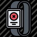 error, interface, message, smart, ui, warning, watch