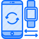 watch, data, phone, interface, smart, exchange, ui