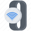 fi, interface, internet, smart, ui, watch, wi icon