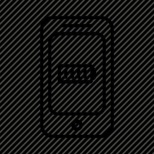 battery, energy, full, phone, power, smartphone icon