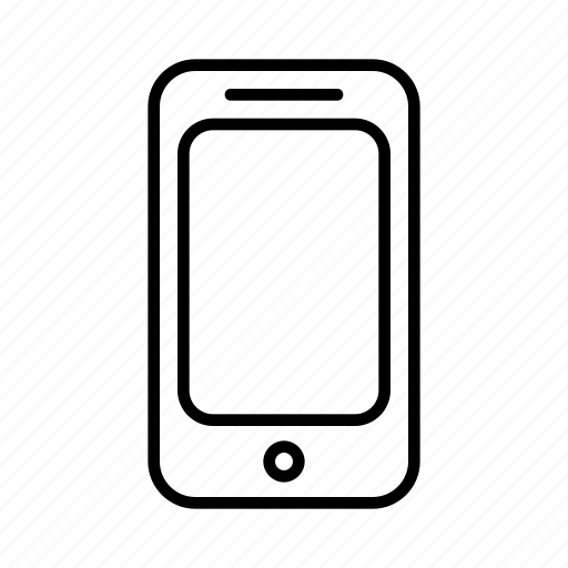 blank, device, iphone, phone, smartphone icon