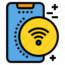 connect, mobile, phone, smartphone, technology, wifi