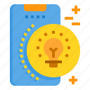 creative, innovation, mobile, phone, smartphone, technology icon