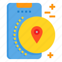 location, mobile, phone, smartphone, technology
