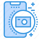camera, mobile, phone, smartphone, technology icon