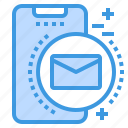 mail, mobile, phone, smartphone, technology