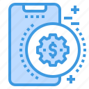 mobile, money, phone, smartphone, technology