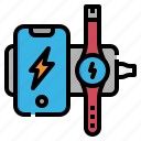 wireless, charging, mobile, phone, power