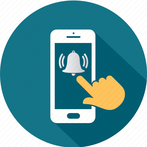 communication, message, mobile, notifications, smartphone, telephone icon