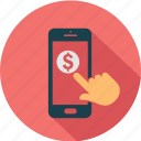 call, communication, ecommerce, mobile, shopping, smartphone, telephone icon