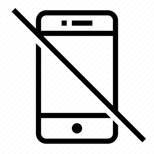 broken, cellphone, deactivated, mobile, off, phone, smartphone icon