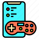 adult, connection, digital, games, happy, mobile, people icon
