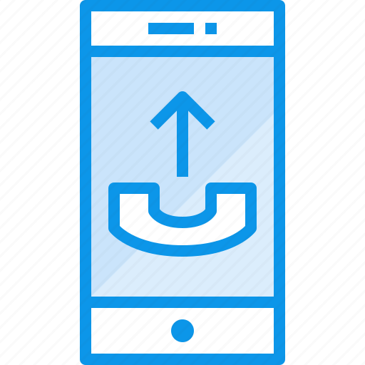 call, communication, device, phone, smartphone, technology icon