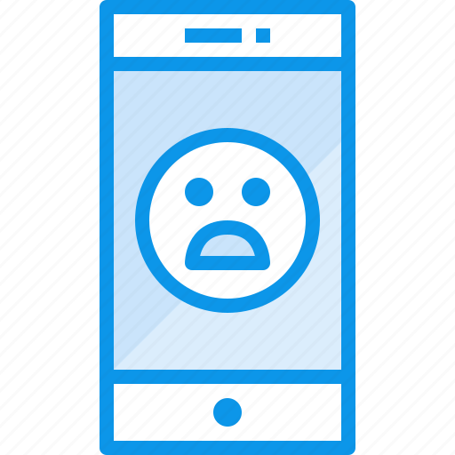 communication, device, emotion, phone, smartphone, technology icon