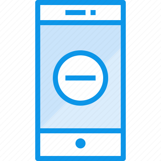 communication, device, phone, remove, smartphone, technology icon