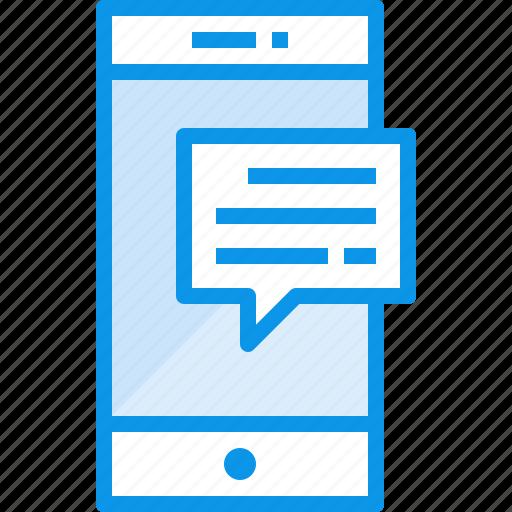 communication, device, phone, smartphone, talk, technology icon