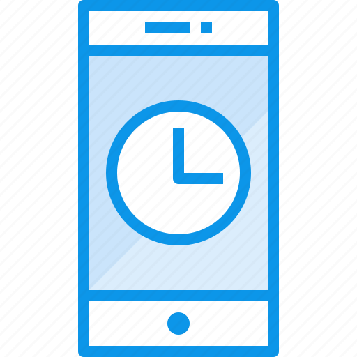 communication, device, phone, smartphone, technology, time icon