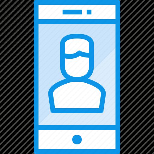 communication, device, phone, smartphone, technology, user icon