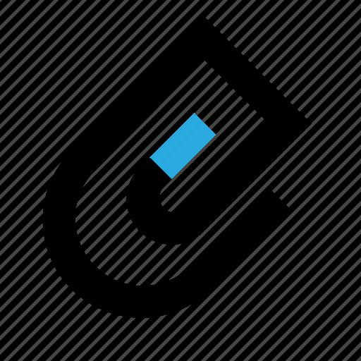 attachment, clip, office, paperclip, staple icon