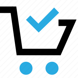 basket, buy, cart, done, shop, shopping icon