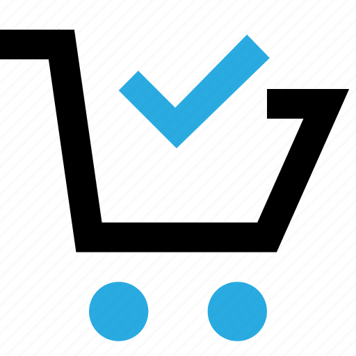 basket, buy, cart, done, shop, shopping icon