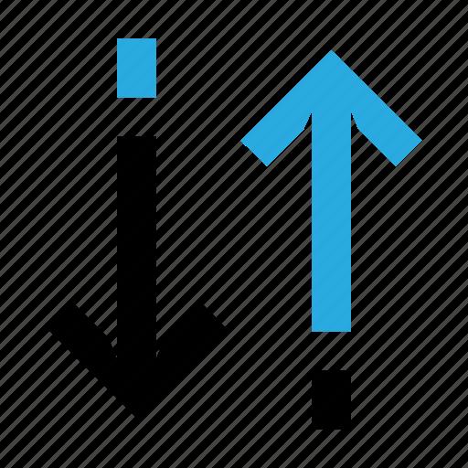 arrow, exchange, swap, sync, synchronization icon