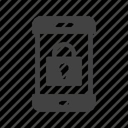 display, lock, mobile, off, phone, screen, smartphone icon