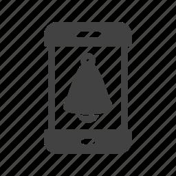 alarm, clock, reminder, ring, smartphone, sound, time icon