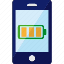 battery, energy, full, phone, smartphone icon