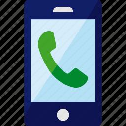 call, calling, phone, smartphone icon
