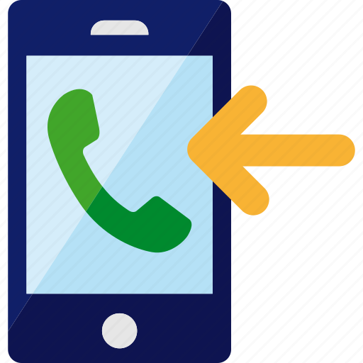 call, incoming, phone, smartphone icon