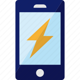 charging, electricity, energy, phone, smartphone icon