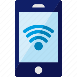 connected, connection, internet, phone, smartphone, wifi icon