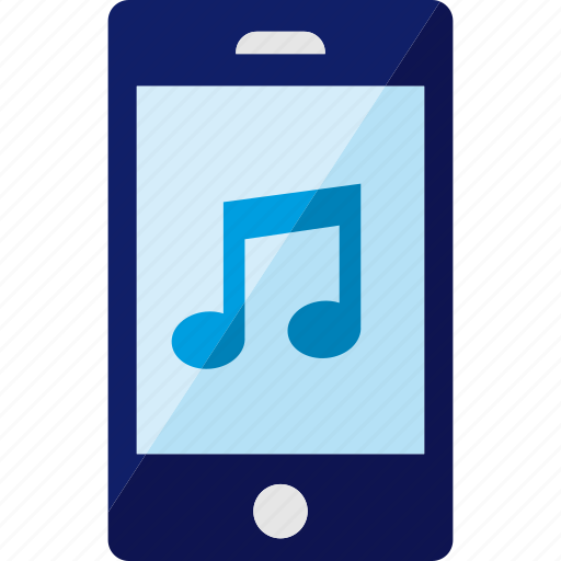 music, phone, smartphone, sound icon