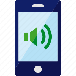 phone, smartphone, sound, volume icon