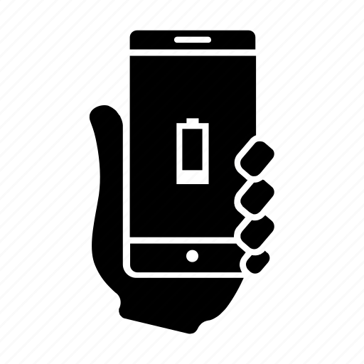 battery, low, mobile, power, smartphone, usability, user icon