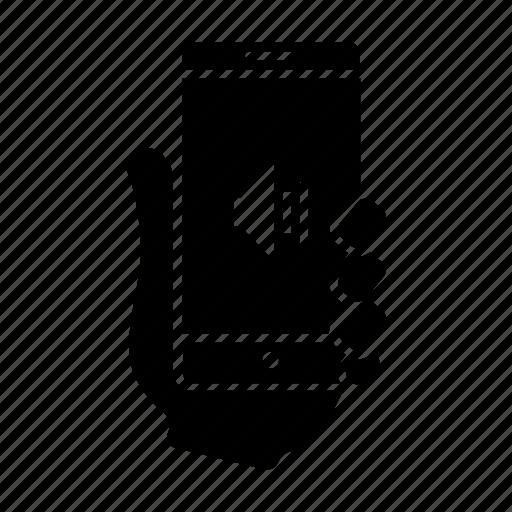 mobile, smartphone, sound, speaker, usability, user, volume icon