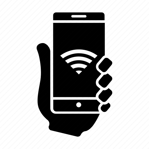 mobile, signal, smartphone, usability, user, wifi, wireless icon
